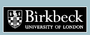 Click here to go to the Birkbeck, University of London home page